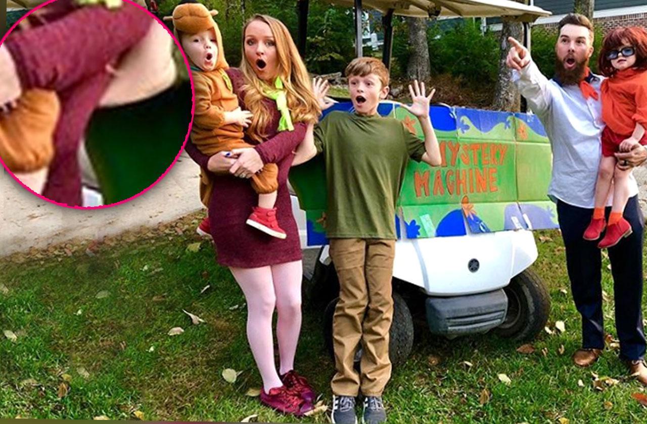 maci bookout photoshop fail baby bump teen mom og