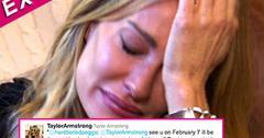 //taylor armstrong death threats twitter