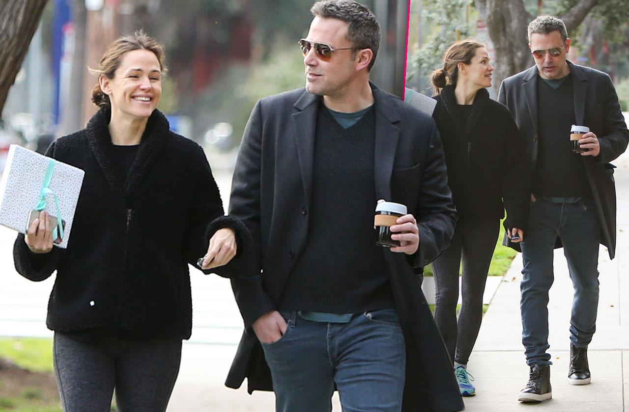 Ben Affleck and Jen Garner Hanging Out