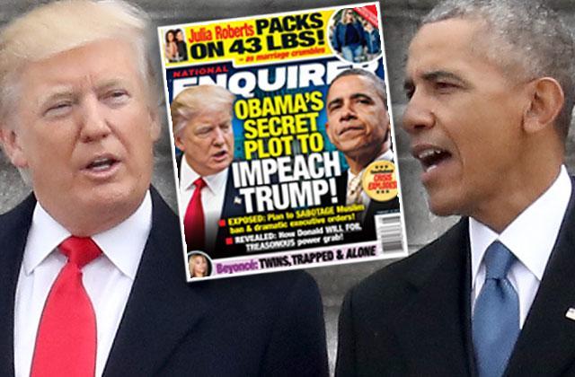 barack obama plot impeach donald trump