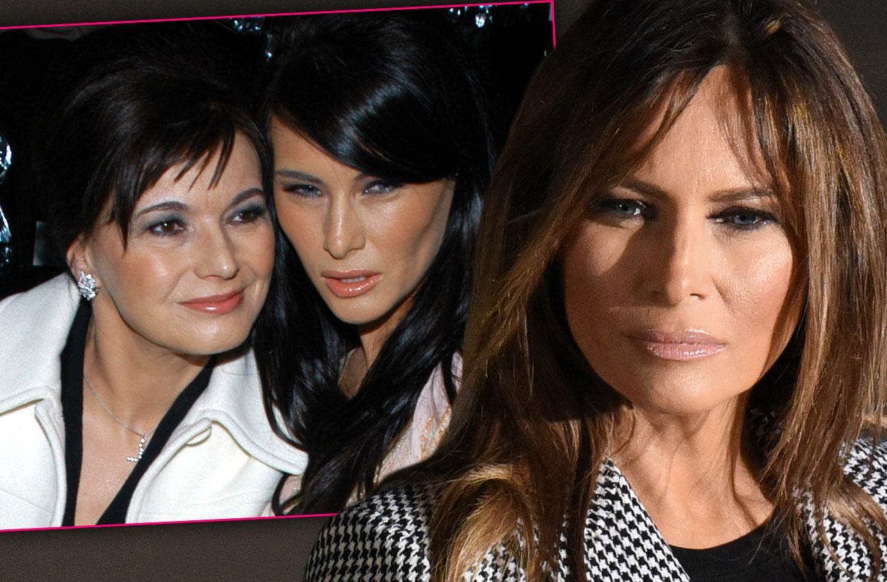 //Melania Trump Leaves White House Sick Mother pp
