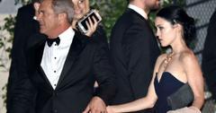 Mel Gibson Backstage Golden Globes Complaining Bar