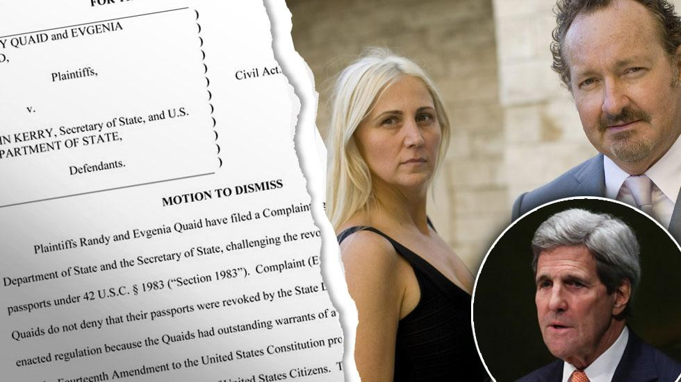 Randy Evi Quaid Lawsuit John Kerry