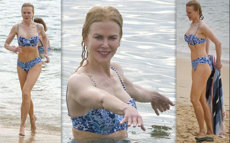 Nicole Kidman Bikini Photos