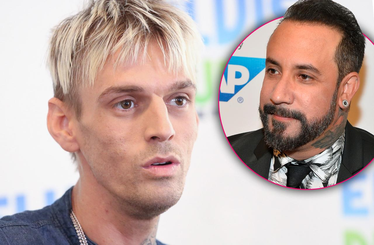 Aaron Carter No Desire To Discuss Rehab Life With Backstreet Boy AJ McLean