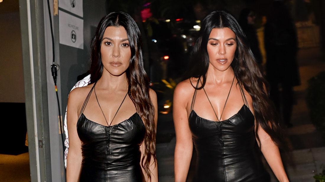 Party Krasher! Kourtney Kardashian's Night Life 'Becoming A Real Issue'