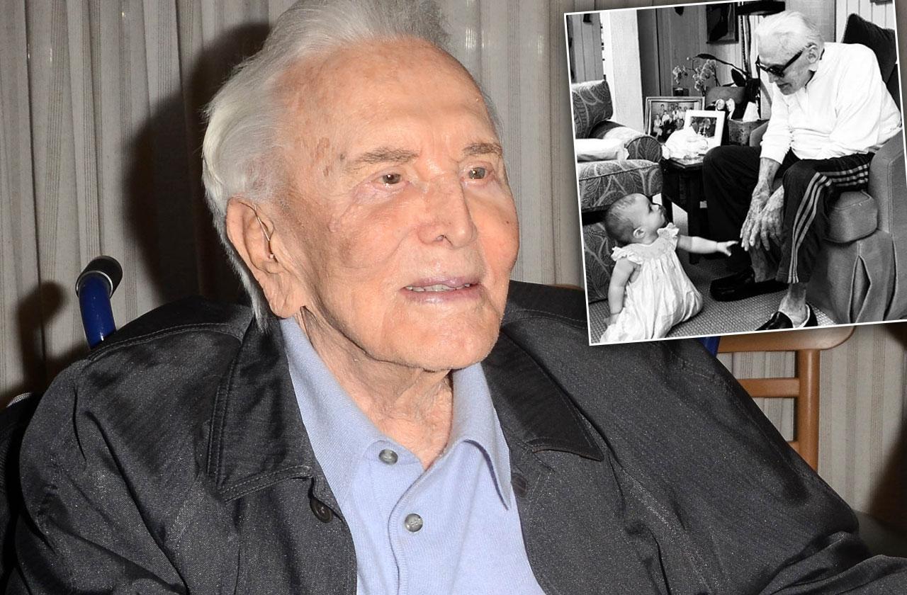Kirk Douglas Great Granddaughter Photo