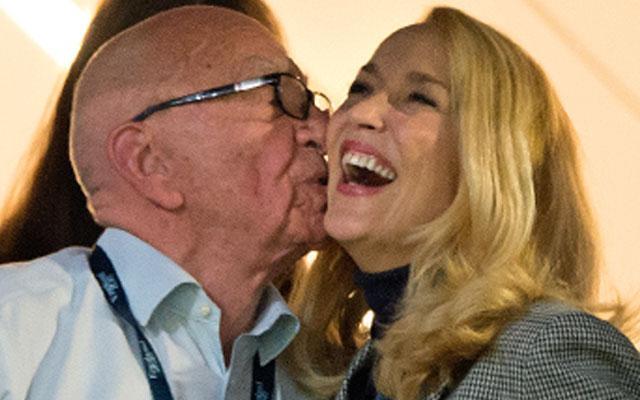 Rupert Murdoch Dating Jerry Hall Couple Caught Kissing, PDA