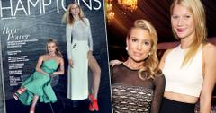 Tracy Anderson & Gwyneth Paltrow Hamptons Magazine Exercise