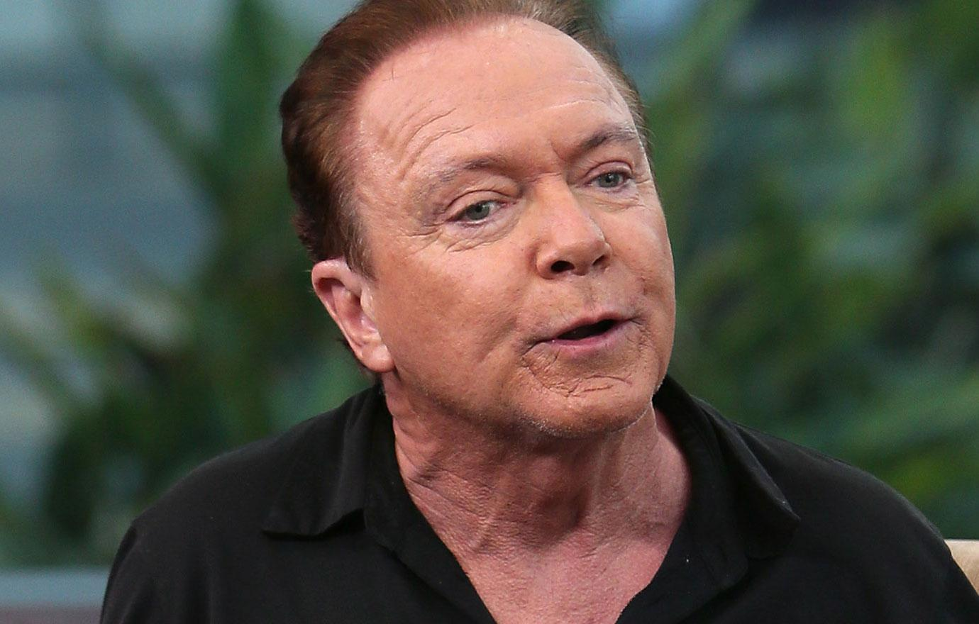 David Cassidy Placed In Self-Induced Coma