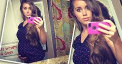 Jessa Duggar Seewald Pregnant Selfie 31 Weeks