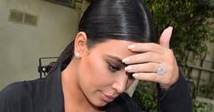Kim Kardashian Overwhelmed