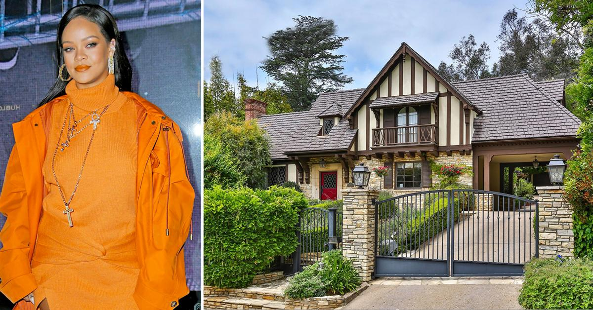 rihanna buys  million beverly hills home next door mansion