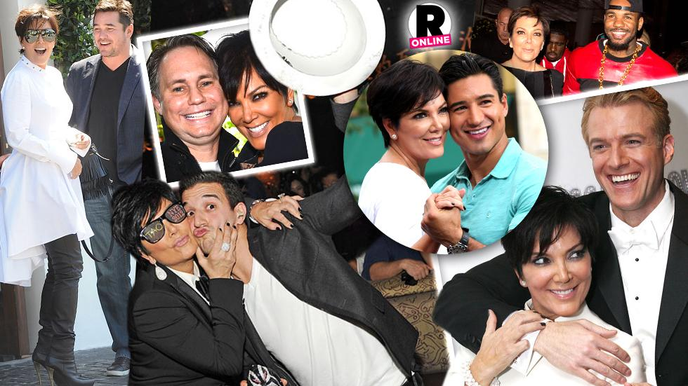//kris jenner loves the attention from man pp sl