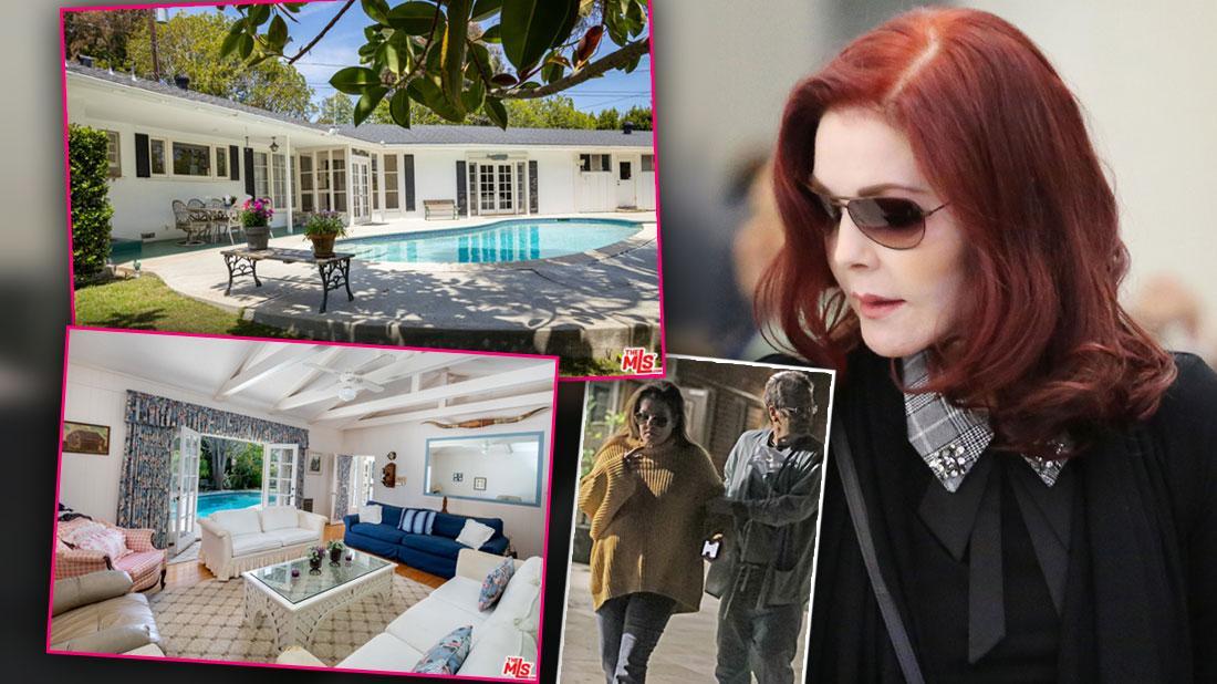 Priscilla Presley Sells LA Home To Save Lisa Marie