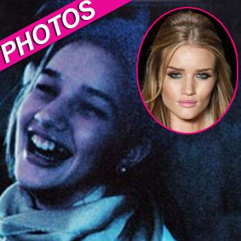 //rosie huntington whiteley childhood pics