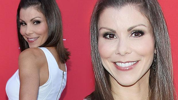 heather dubrow skinny wedding dress instagram pic