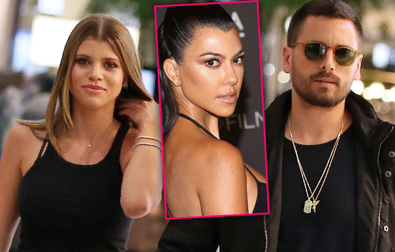 Kourtney Kardashian Vacations in Cabo With Scott and Sofia