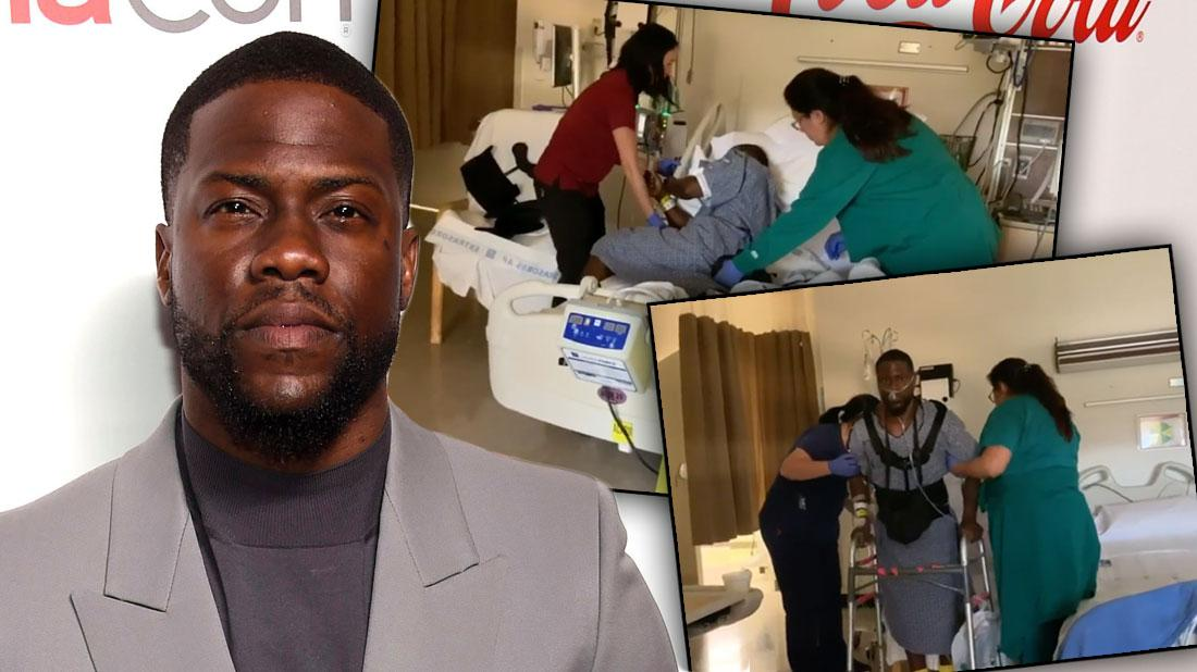 Kevin Hart Posts Video About Appreciating Life After Car Accident