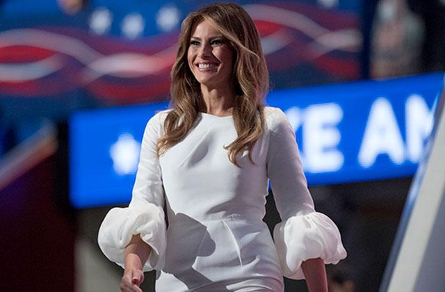//melania trump convention dress sells out