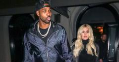 Khloe Kardashian Packed on the PDA With Tristan Thompson at Sister Kim's 40th Birthday