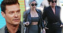 Ryan Seacrest Asks Kardashians For Help Against Sexual Harassment Claims