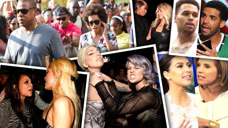 //celebrity feuds chris brown drake kanye west kim kardashian celebrity feuds pp sl