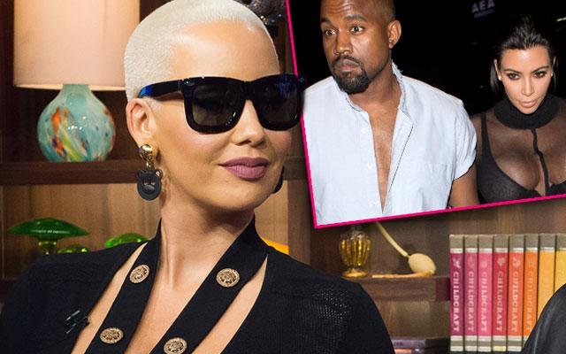 Amber Rose Kardashian Kanye West Questions WWHL