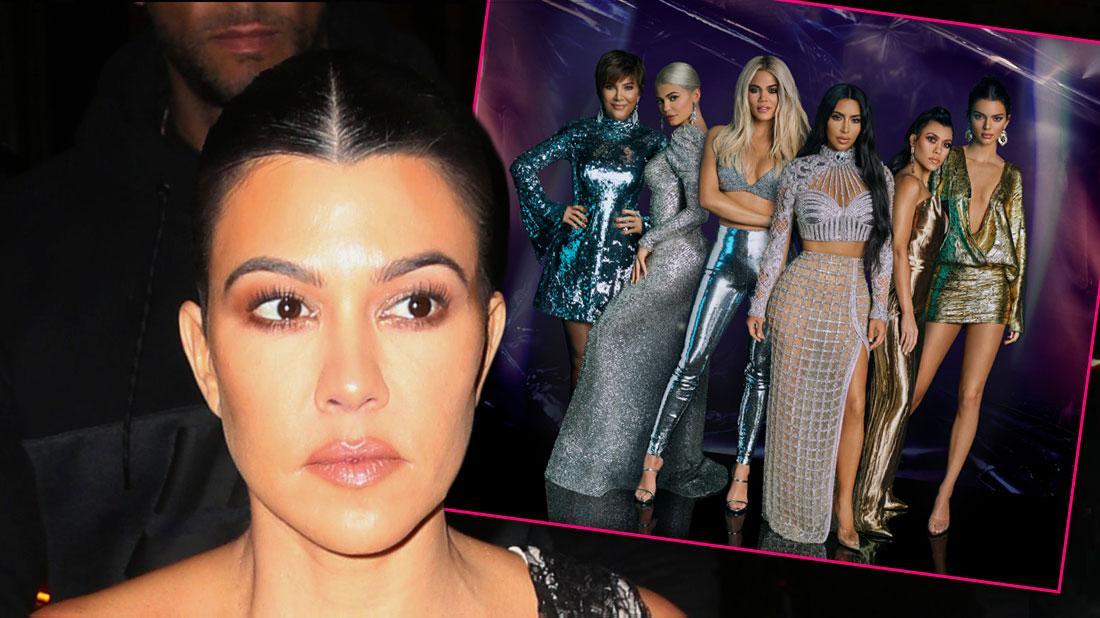 Kourtney Kardashian Reveals She's Taking A Break From 'KUWTK': 'Not For Me'