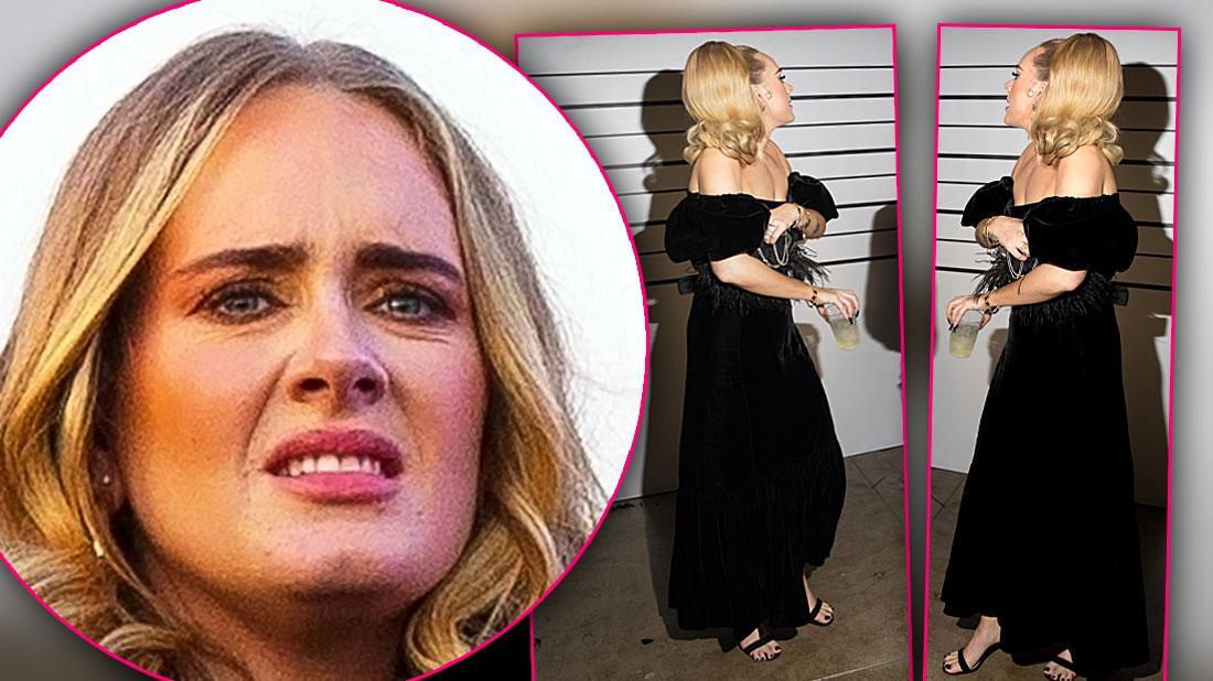 Friends Beg Diet Addict Adele Slow Down
