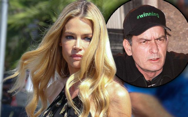 Denise Richards Charlie Sheen Trashed Mud Dog Feces