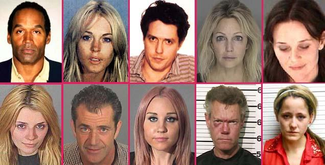 // most shocking celebrity arrests wide