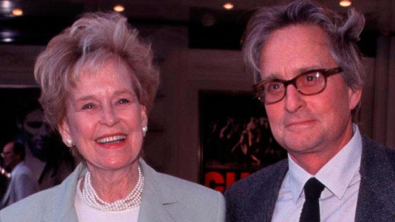 Actress Diana Douglas Mother Of Michael Douglas Dies At 92