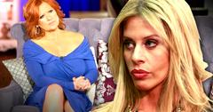 //dina manzo opens up family feud caroline rhonj breaks my heart pp sl