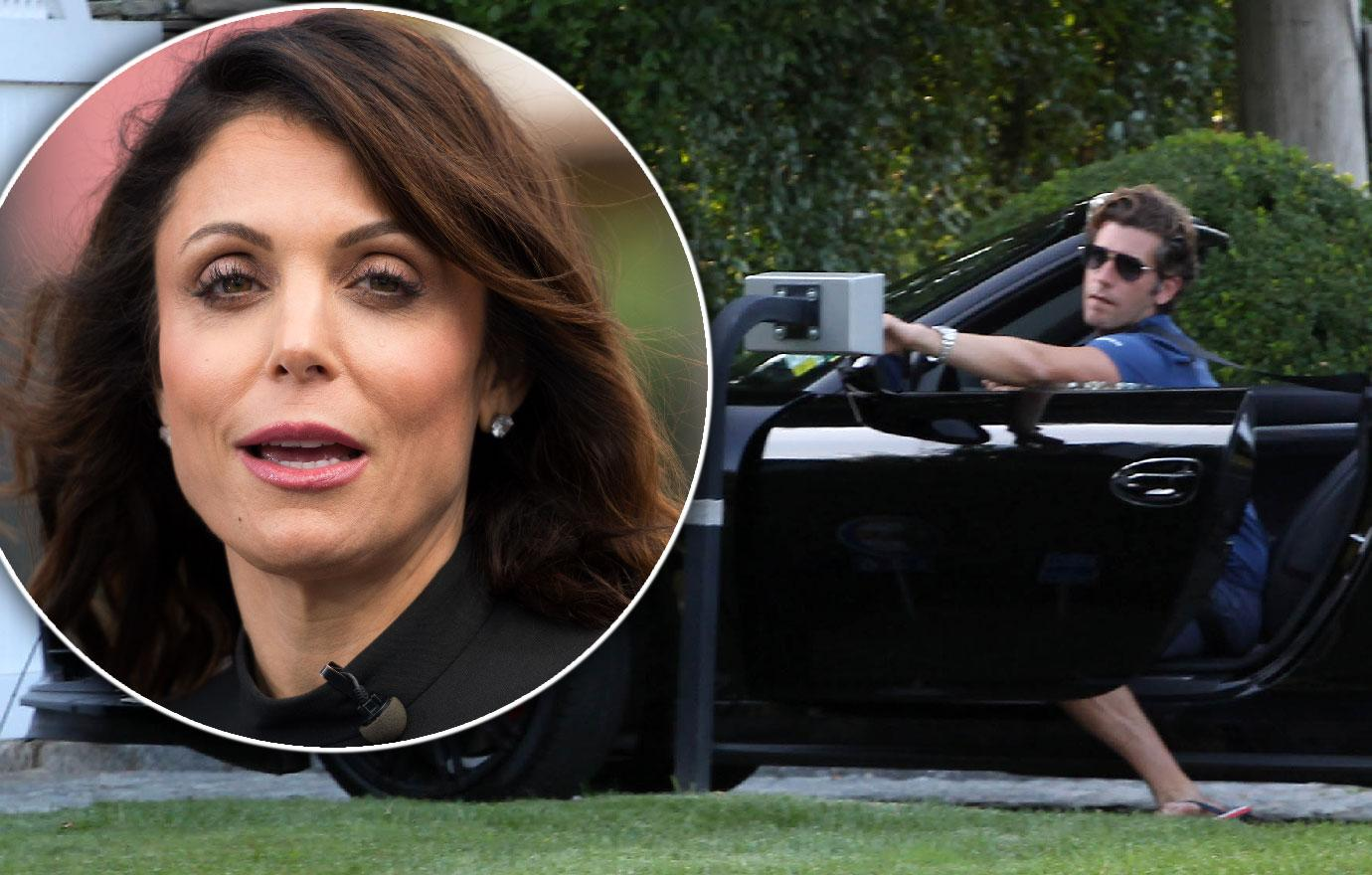 //mystery man with bethenny frankel after her boyfriend death pp