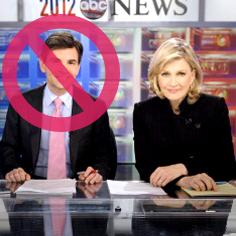 //george stephanopolous diane sawyer no replace world news sq