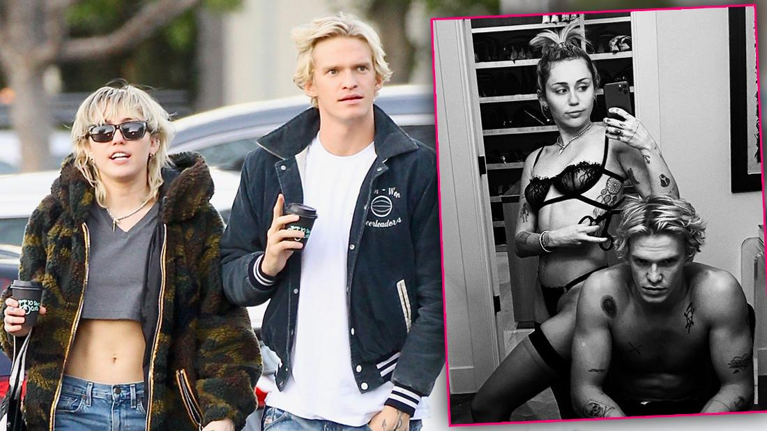 Miley Cyrus Gets Sexy For BF Cody Simpson In Racy Lingerie