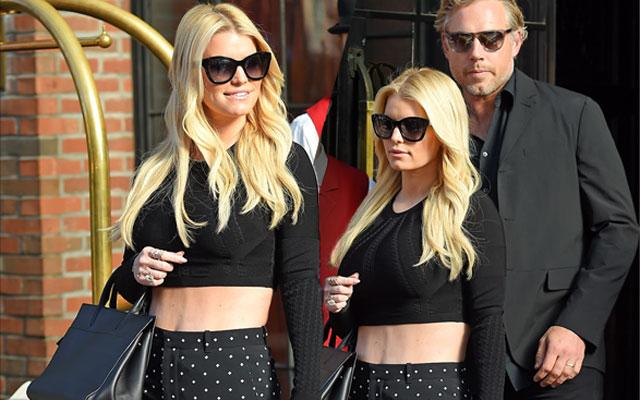 //jessica simpson weight loss abs pp