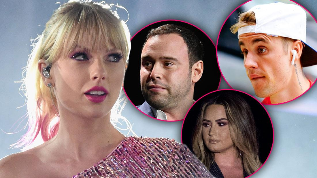 Celebrities Stand Against Taylor Swift In Scooter Braun Feud
