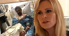 //RHOC Tamra Judge Husband Eddie Hospitalized p