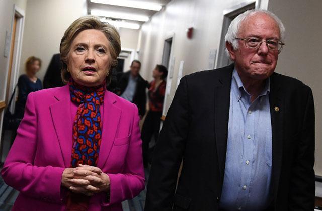 Hillary Clinton Emails Hacked Bernie Sanders