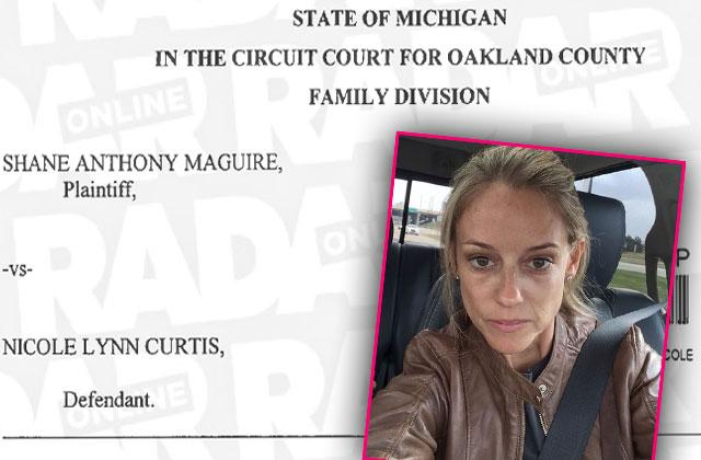nicole curtis custody arrangement missing holidays son