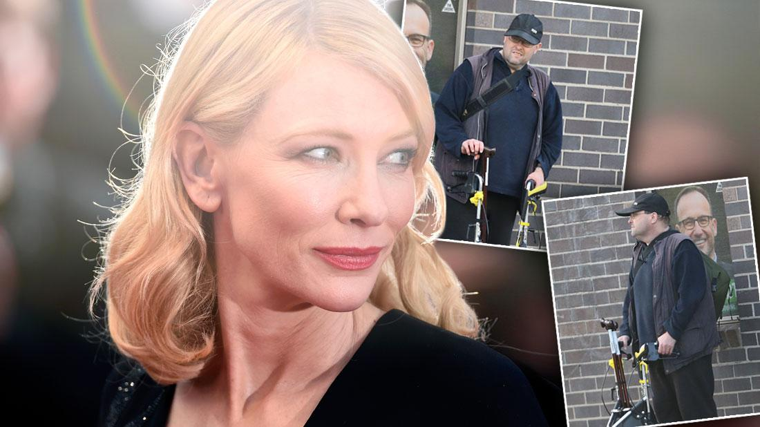 Cruel Cate Blanchett Leaves Broke Brother To Rot In Australia!