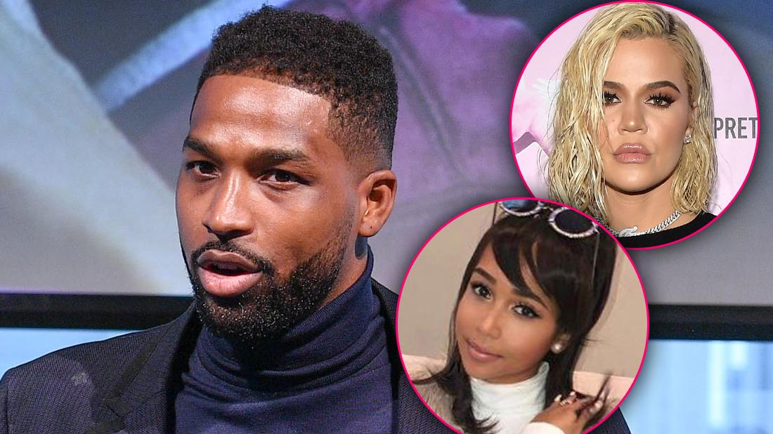 Tristan Thompson Khloe Kardashian Serious and Jordan Craig Looking Happy Child Support Battle