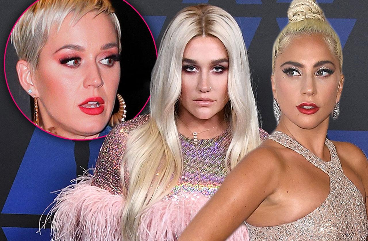 Kesha Lady Gaga Slammed Katy Perry Mean Texts