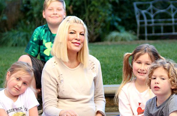 //tori spelling dean mcdermott birth baby boy pp