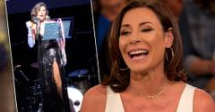 Luann de Lesseps joking about her recent brush with jail