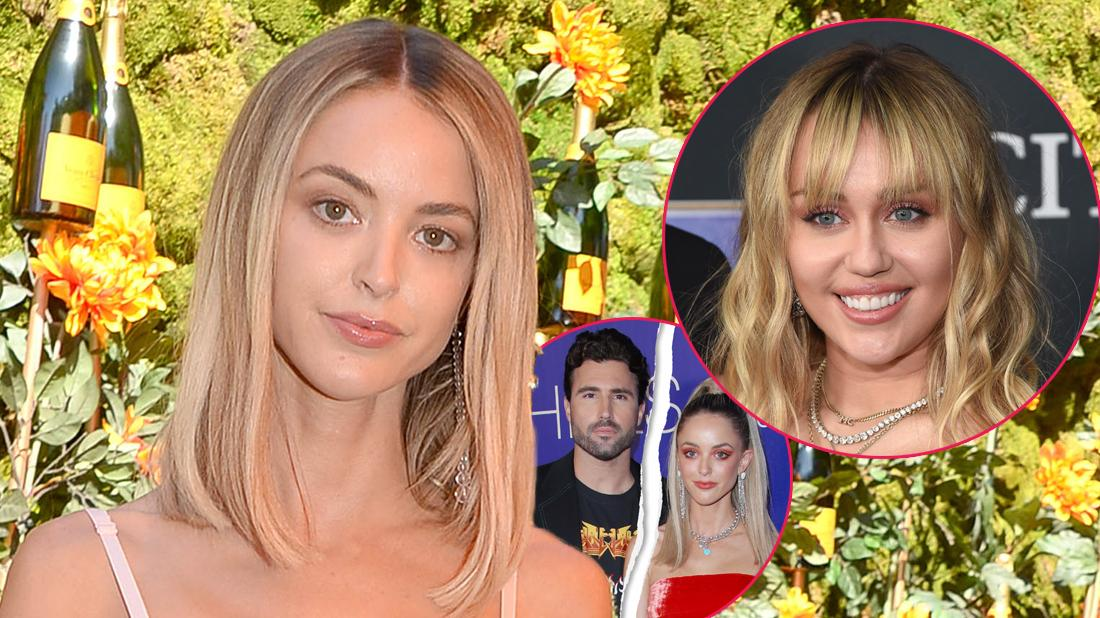 Kaitlynn Carter Reveals She Was 'In Love' With Miley Cyrus After Brody Jenner Split