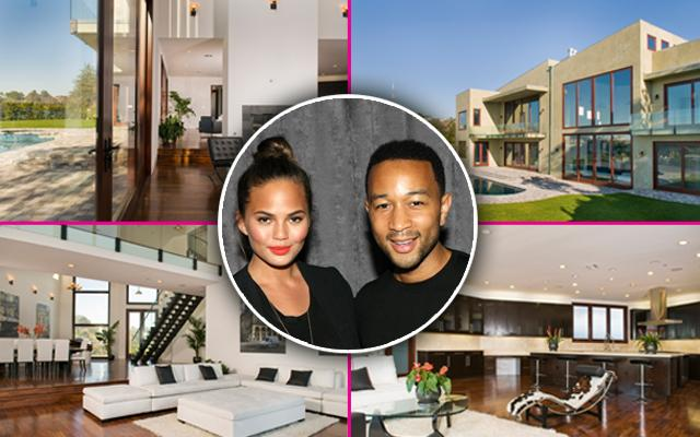 Chrissy Teigen John Legend House Los Angeles