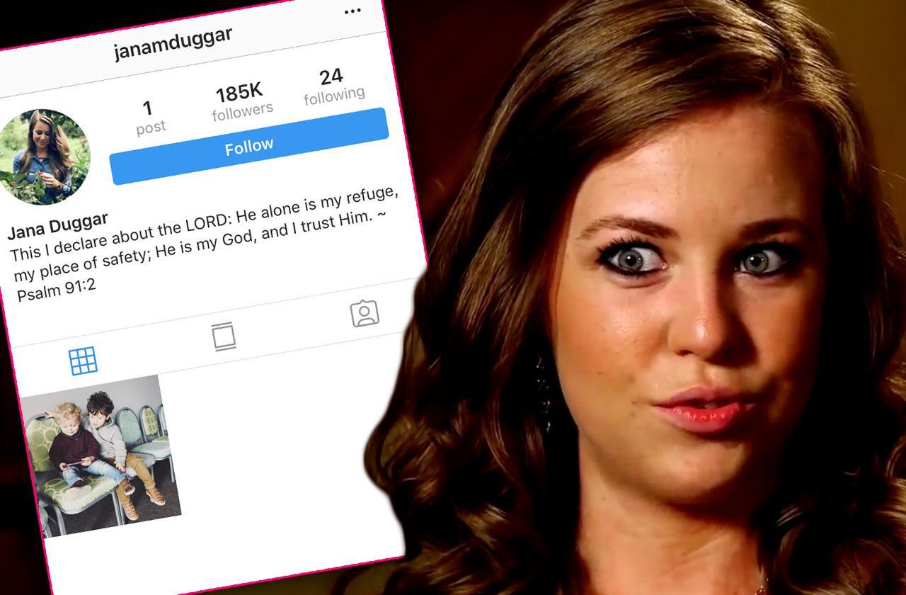 jana duggar gets Instagram